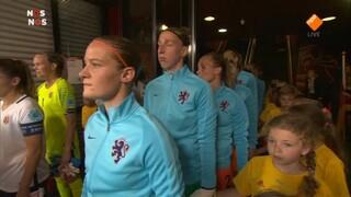 NOS EK vrouwenvoetbal Nederland - Noorwegen voorbeschouwing en eerste helft