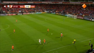 NOS EK vrouwenvoetbal Nederland - Denemarken tweede helft en nabeschouwing