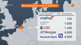 'Frankfurt wint strijd om Brexit-banken van Amsterdam'