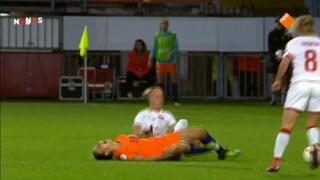 NOS EK vrouwenvoetbal NOS EK vrouwenvoetbal Nederland - Belgie voorbeschouwing en 1ste helft