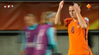 NOS EK vrouwenvoetbal NOS EK vrouwenvoetbal Duitsland - Denemarken 2de helft en nabeschouwing