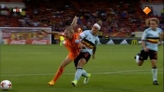 Leeuwinnen verslaan de Belgische dames