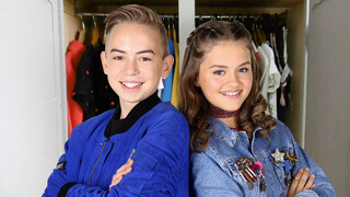WIEKE & DYLAN in da house | Juniorsongfestival.NL