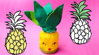 Tropisch Ananaslampje - Summer DIY | Jill