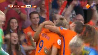 Nederlandse vrouwen door naar halve finale EK Voetbal!