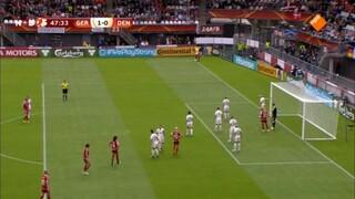 NOS EK vrouwenvoetbal Duitsland - Denemarken 2de helft en nabeschouwing