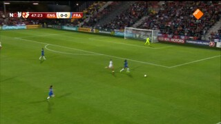 Nos Ek Vrouwenvoetbal - Engeland - Frankrijk 2de Helft En Nabeschouwing