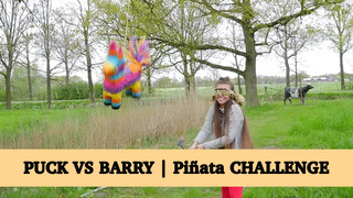 Puck vs Barry | Piñata Challenge