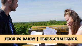 Puck vs Barry | Teken- challenge
