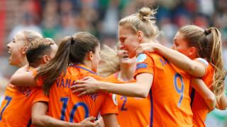 Hoogtepunten finale Oranje Leeuwinnen