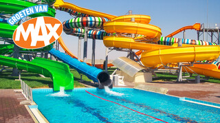 Geen water in aquapark