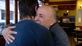 Archief: emotionele ontmoeting met Libanese vader