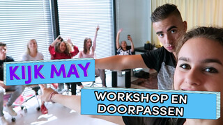 Doorpassen en Workshop - Kijk May | Brugklas seizoen 6