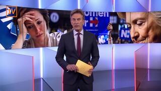 Tranen bij democraten in Nederland