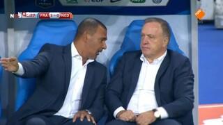 NOS WK-kwalificatie Voetbal Frankrijk - Nederland 2de helft