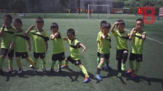 De Chinese voetbalfabriek