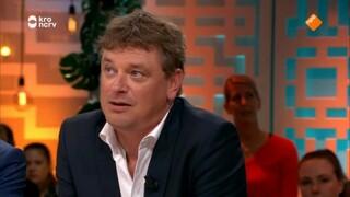 Jesse Klaver, Joey Boink, Angela de Jong en Gerard Joling