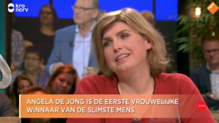 De winnaar van De Slimste Mens is Angela de Jong