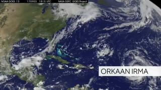 Orkaan Irma op komst