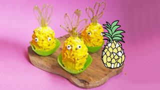 Ananas Cupcakes - Recept | Jill
