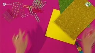 Ananas boekenlegger - DIY | Jill