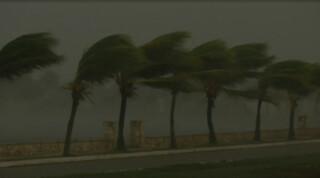 Orkaan Irma op weg naar Florida