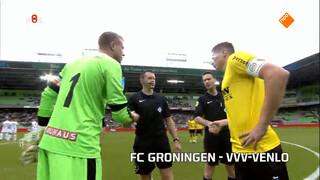 Samenvatting FC Groningen - VVV Venlo