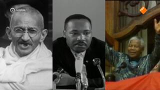 Heeft het werk van Mandela, Gandhi en King wel zin gehad?