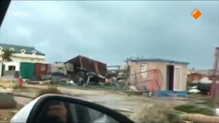 Sint- Maarten na de orkaan