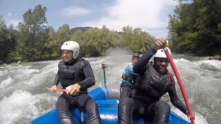 Risky Rivers Fred van Leer en Imanuelle Grives - Spanje