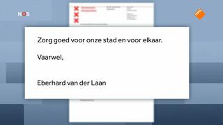 Van der Laan legt taken neer