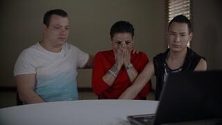 Maria, Rolando en Ademar zwierven op straat
