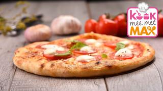 Kook Mee Met Max - Snelle Zelfgemaakte Panpizza's