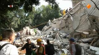 Verwoestende aardbeving Mexico