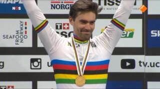 Dumoulin wereldkampioen tijdrijden