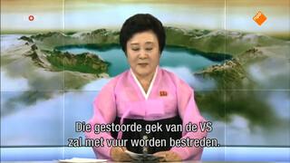 Wedstrijd schelden Amerika - Noord-Korea
