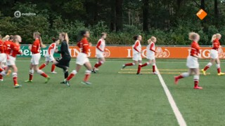 Voetbalmeisjes Roxy