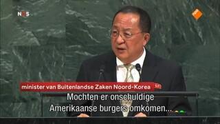 VS-bommenwerpers langs Noord-Koreaanse kust