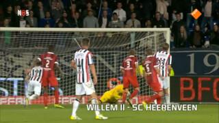 Samenvatting Willem II - SC Heerenveen