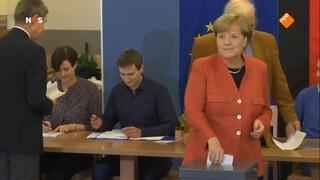 Exitpoll Duitse verkiezingen