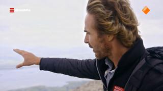 Chris heeft adembenemend uitzicht in Ierland