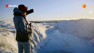 Nienke wordt overdonderd door de schoonheid van Groenland