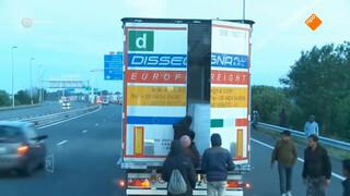 Bedreigde chauffeurs rijden niet meer op Engeland