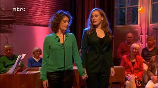 Rosanne van Sandwijk en Laetitia Gerards