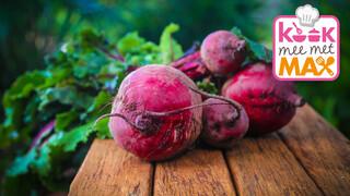 Kook mee met MAX Speltsalade met rode bieten en geitenkaas