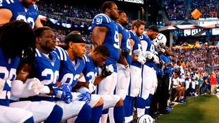 Sportwereld protesteert tegen Trump