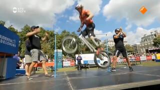 Hoe kan ik hoger met mijn BMX springen?