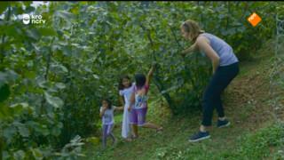 Marijn bezoekt een boomgaard