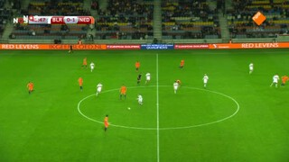 Wit-Rusland - Nederland 2de helft