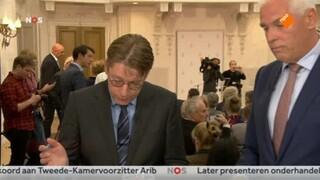 NOS Journaal 13.00 uur (Nederland 2) Presentatie Regeerakkoord